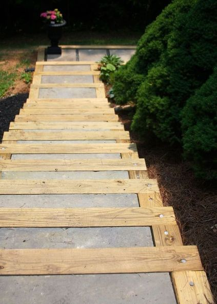 Best 148 Best Outdoor Wooden Stairs Pathways Images On 400 x 300
