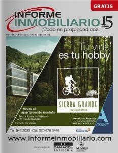 Edición de abril del 2013 Revista Informe Inmobiliario para encontrar todos los inmuebles.
