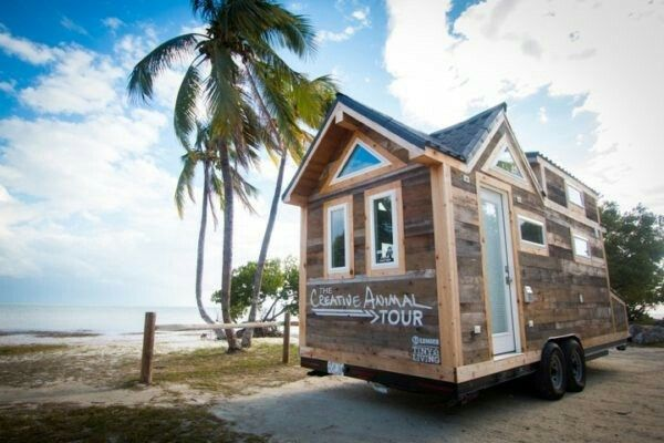 Creative Animal Tiny House on Wheels by 84 Lumber