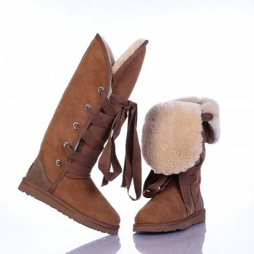 Ugg Roxy Tall Boots 5818 Chestnut
