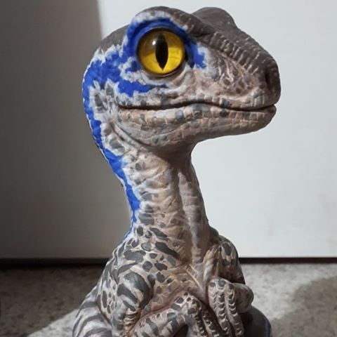 Image result for baby blue raptor