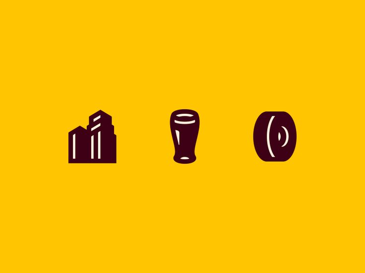 City Brew Tours Icons by Dan Fleming #Design Popular #Dribbble #shots
