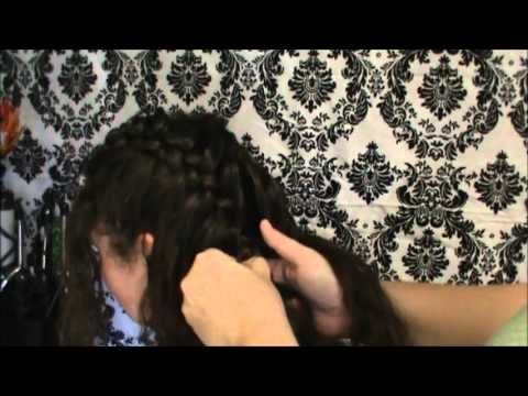Feather Braid that I created from a picture on my hairhairhair board