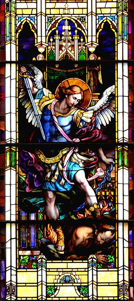Today, Sept. 29th is the Feast of St. Michael, the Archangel! How much we need his assistance in combating the devil in these days….in all the big things that trouble this world, but also in …