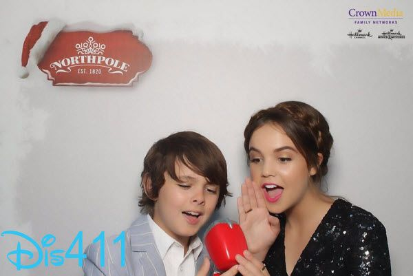 Photos: Bailee Madison With Max Charles At Hallmark Channel's 2014 Summer TCA Party