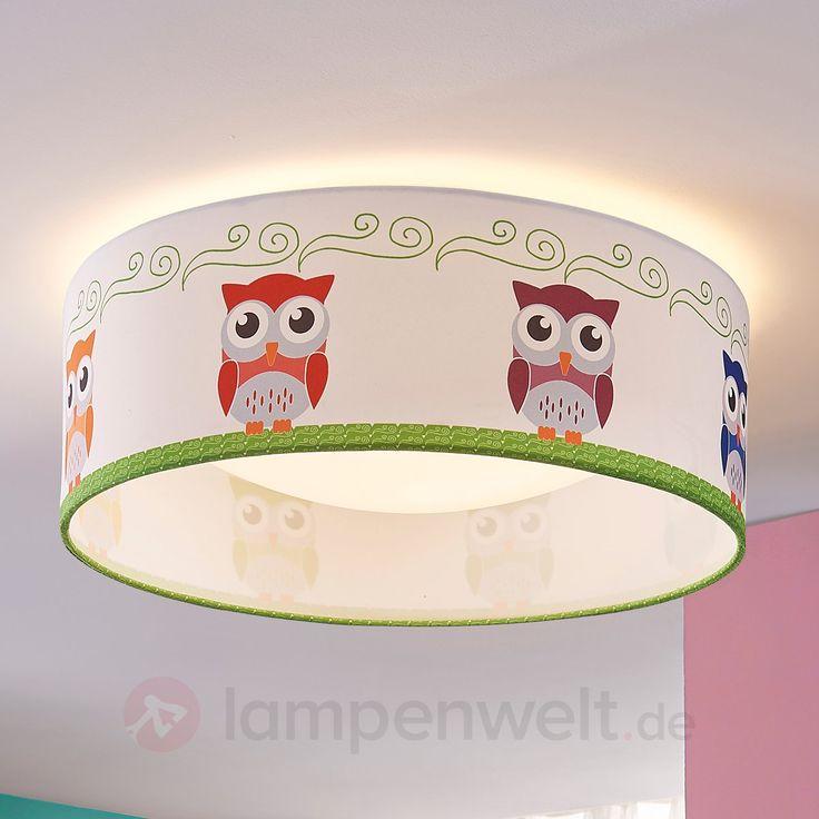 Textil-Deckenlampe Eula mit hellen LEDs 9620936