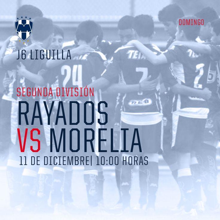 Así juegan hoy los #Rayados #SegundaDivisión el partido 6 del Round Robin de Liguilla🔵⚪ #VamosRayados