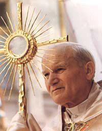 Ecclesia de Eucharistía,  http://www.vatican.va/holy_father/special_features/encyclicals/documents/hf_jp-ii_enc_20030417_ecclesia_eucharistia_en.html