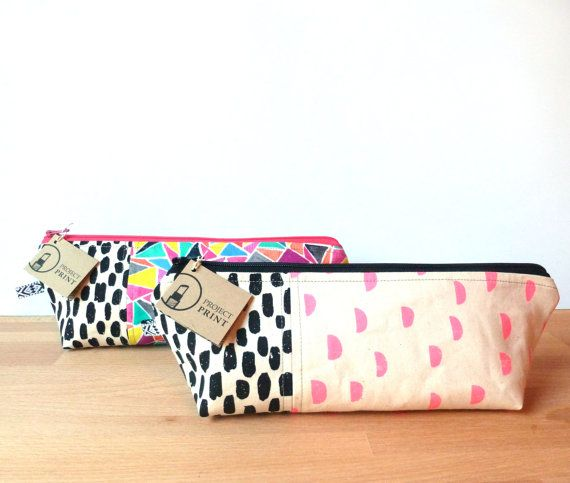 Personalized Makeup Bag custom purse organizer by ProjectPrint