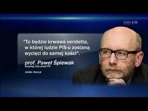 Wiadomości TVP1 - 07-04-2017 (19:30)