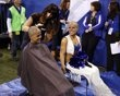 @NFL: Buffalo Bills at Indianapolis @Colts: Cheerleaders shave their heads to raise $22.7K for #CancerResearch