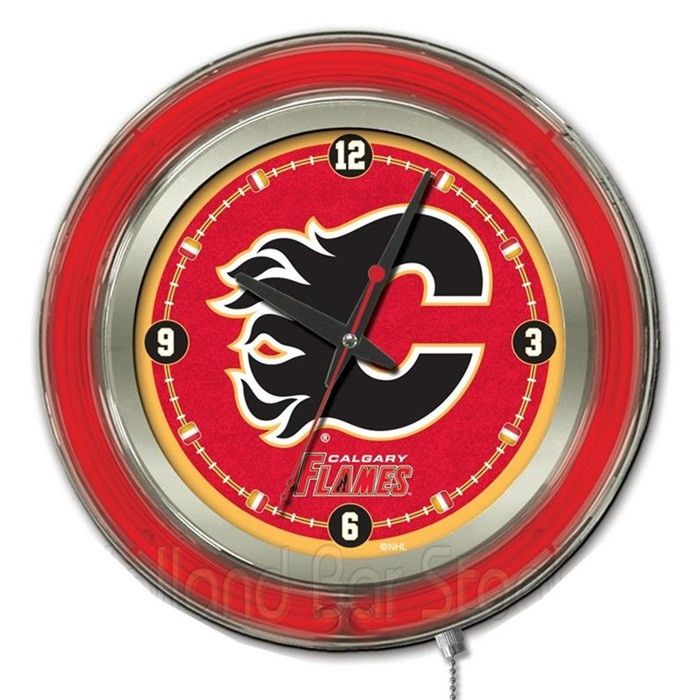 Use this Exclusive coupon code: PINFIVE to receive an additional 5% off the Calgary Flames Neon Logo Clock at SportsFansPlus.com