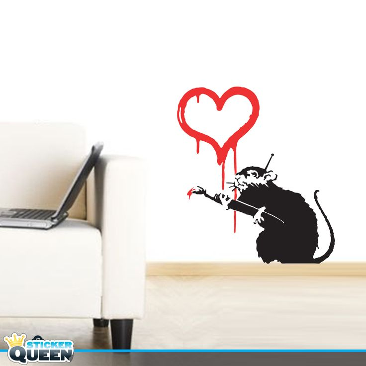 Banksy rat love