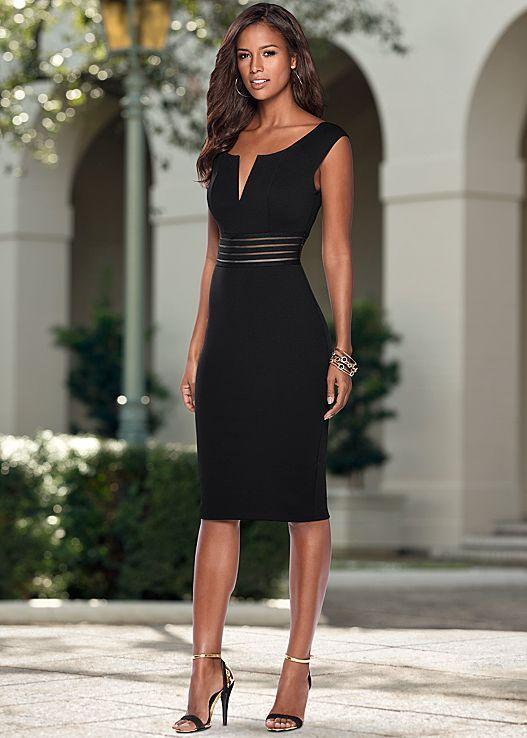Kleid mit Taillendetails – #elegante #Kleid #mit #Taillendetails