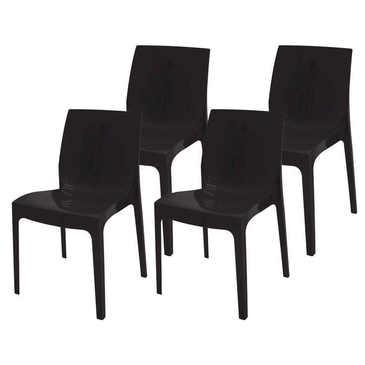 Kit com 4 Cadeiras Tramontina Alice - Cadeiras para Áreas Externas no Extra.com.br