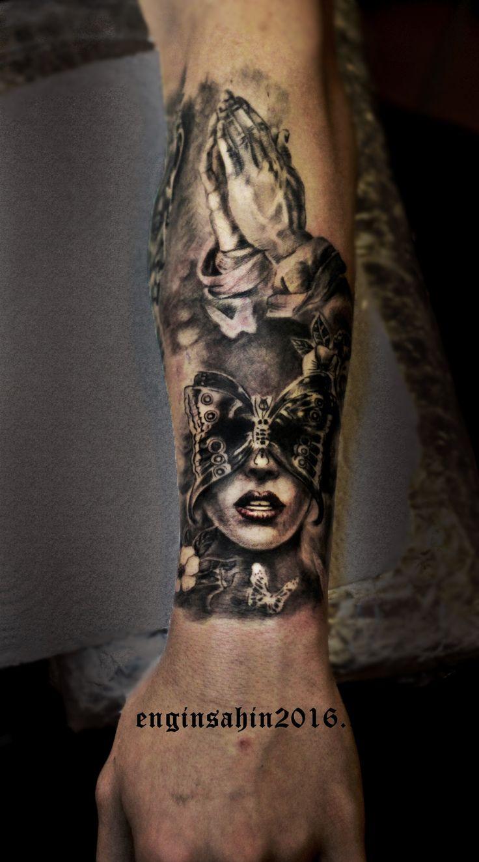 women tattoo d vme el d vmesi realistic tattoo engin ahin tattoo3 pinterest. Black Bedroom Furniture Sets. Home Design Ideas