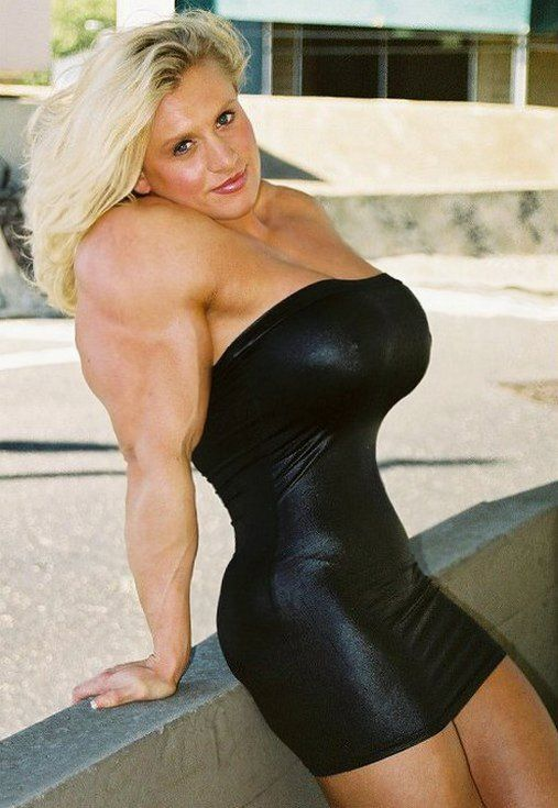 Pics of female body builders big boobs remarkable, very