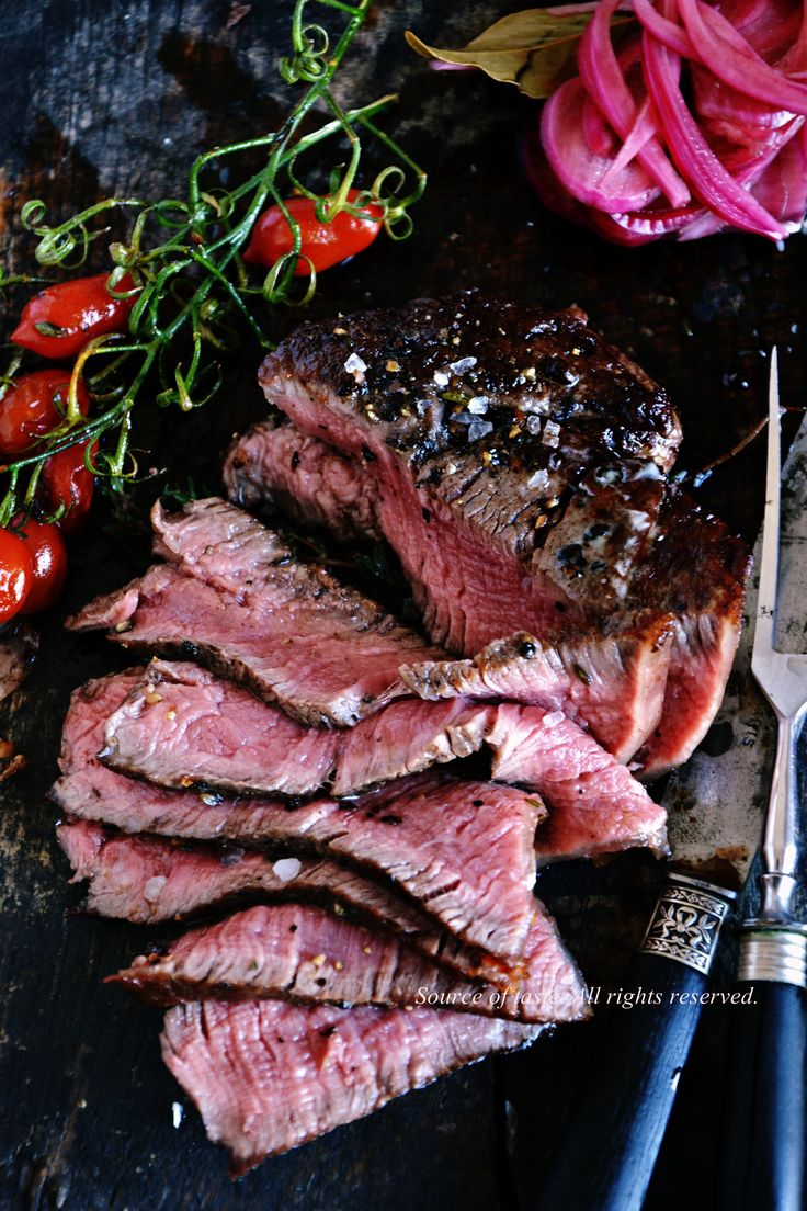 Стейк з яловичої вирізки