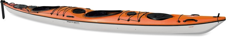 Point 65 Double Shot Tandem Kayak with Rudder and Skeg