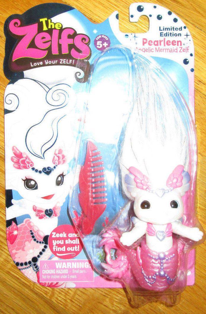 Zelfs PEARLEEN Angelic Mermaid Zelf Series 5 Medium Doll 2015 LIMITED EDITION in Dolls & Bears, Dolls, By Type | eBay