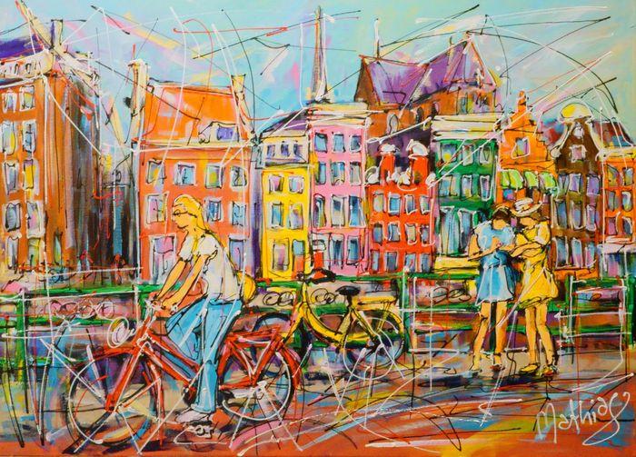 Nu in de #Catawiki veilingen: Mathias - Street of Amsterdam, Herengracht