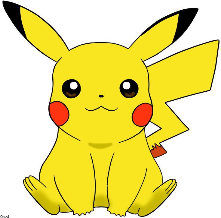 Pikachu Digital Art - Pokemon by Dark-Omni.deviantart.com on @deviantART So cute!