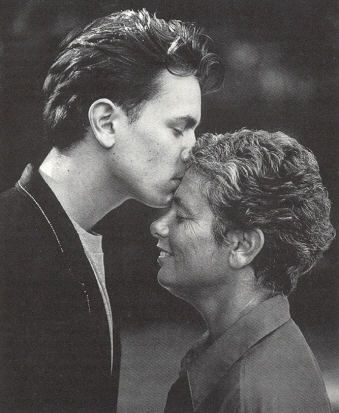 River Phoenix and his mother Arlyn