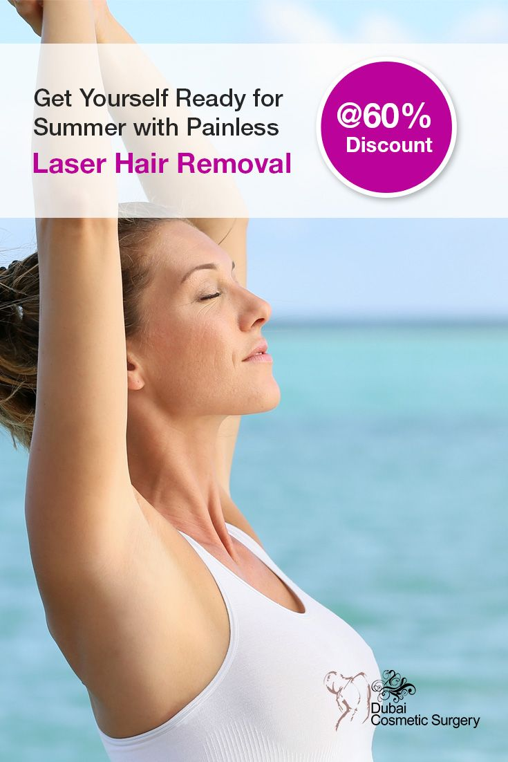 Get Yourself Ready For Summer With Painless Laser Hair Removal At
