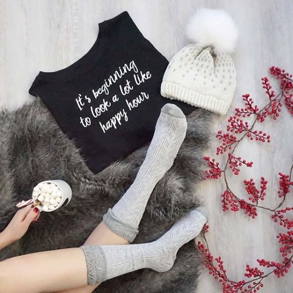 It's Beginning to Look A Lot Like Happy Hour - Nordstrom Rack #christmas #cute #sweater