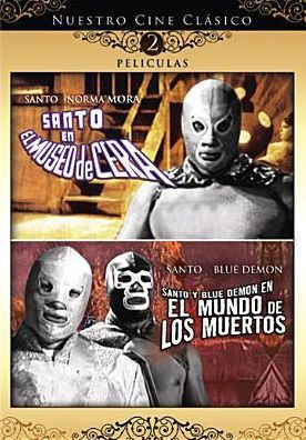 Santo Museo Cera/Santo Blue Demon Mundo Muertos
