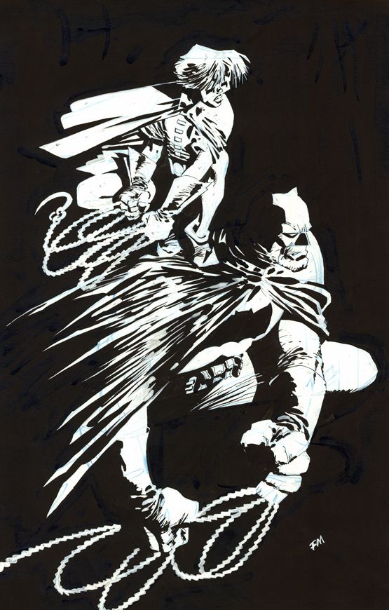 Comic Book Artist: Frank Miller | Abduzeedo | Graphic Design Inspiration and Photoshop Tutorials