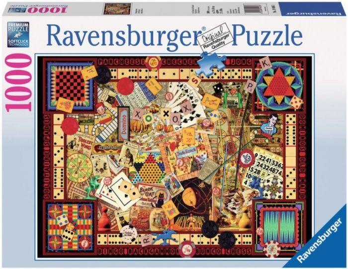 Ravensburger Puzzle 1000pc - Vintage Games