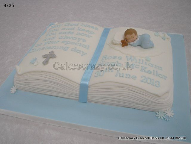 Christening Cake Book Design : 1000+ images about Christening cake ideas on Pinterest