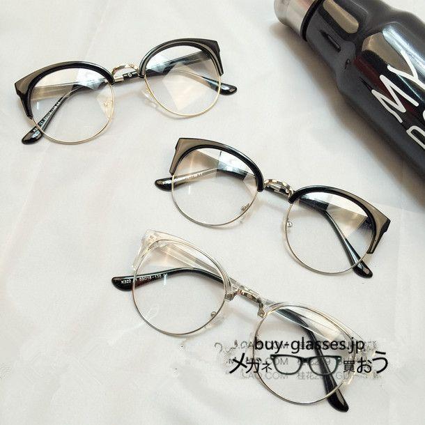 小悪魔的な印象を受けるフォックスタイプ、最新作フォックス 眼鏡フレーム!!   1。ダテメガネ度な...