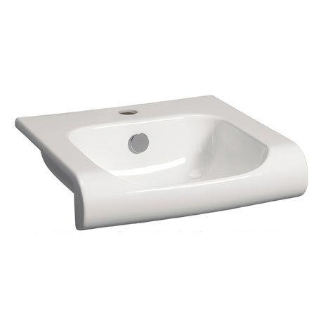 Bauhaus - Essence 1 Tap Hole Semi Recessed Basin - 500 x 400mm
