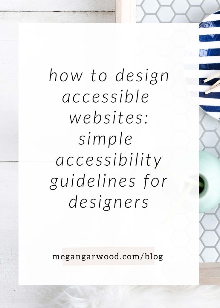 Accessibility Standards Simplified A Foolproof Guide To Web Accessibility For Designers Accessibility Design Web Accessibility Web Design