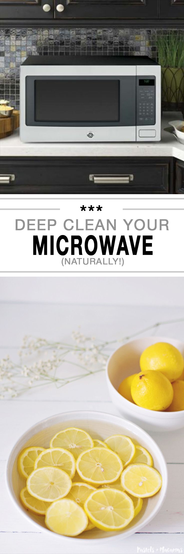 how to steam microwave clean
