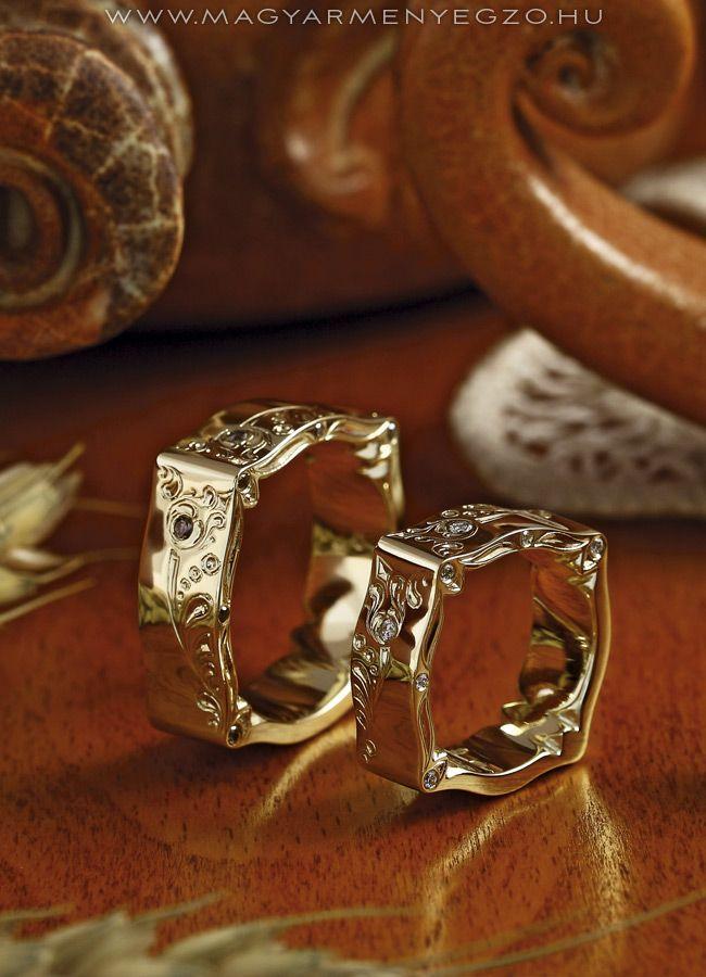 Pántlika No.2 - karikagyűrű - wedding ring www.magyarmenyegzo.hu