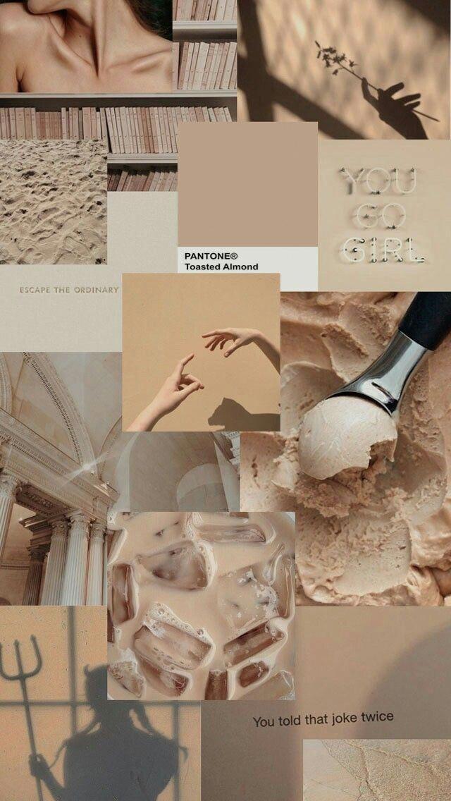 psychewallpaper beige aesthetic aesthetic desktop