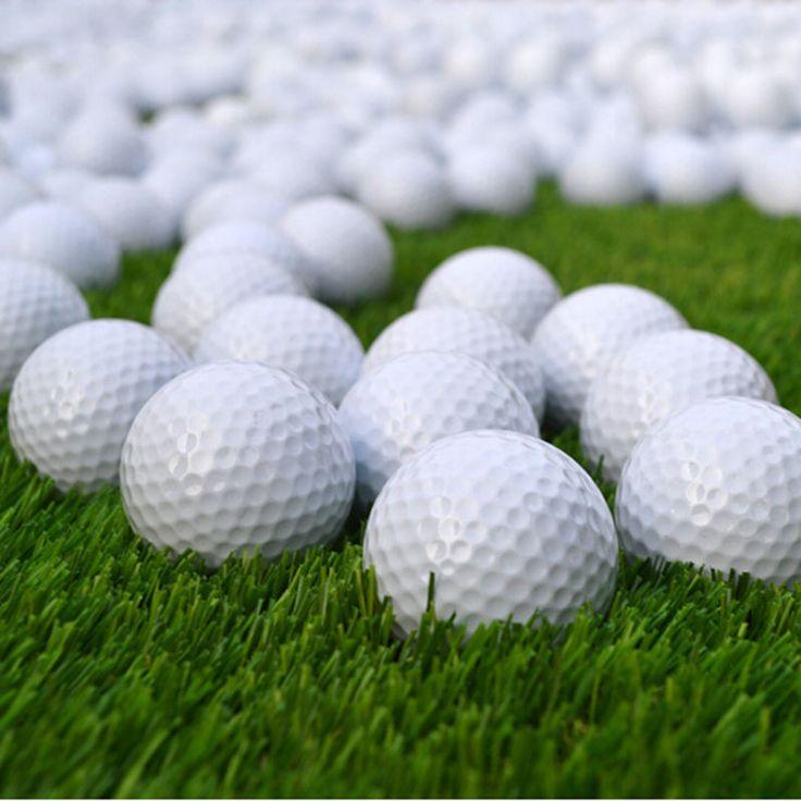 10 Pz Bianco PU Foam Sfera di Golf Indoor Outdoor Pratica Sugli Aiuti Alla Formazione Pallina Da Golf Golf Forniture di alta qualità