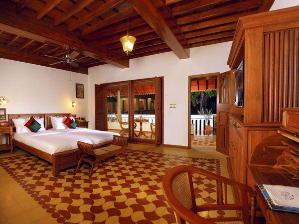Chettinad Hotel Rooms, Hotels in Pudukottai : Chidambara Vilas | Hotels in Karaikudi