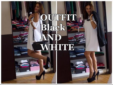 Outfit Black and White   Collab. Katia Makeup