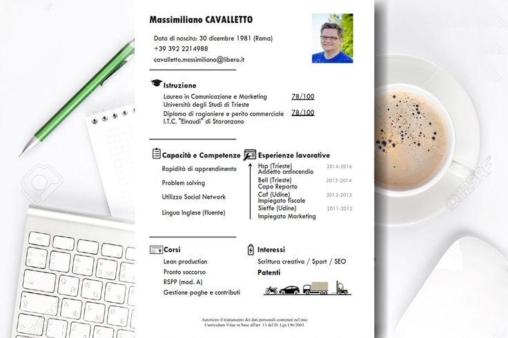 Formato: IMPact (ver 1.0)  Tipo:  CV infografico File disponibile: Doc Colori: Nero  Tra i vari formati messi a disposizione nel servizio di Capitale Umano, l'IMPact si distingue per il forte l'impatto visivo. E' un formato studiato per adattarsi a più mansioni lavorative, anche con esperienza.