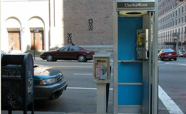 Clark & Kent - The Ad Agency with headquarters in phone booth in NY...simple genius