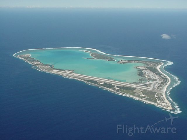 Wake Island AAF in Mid-Pacific region.  I lived/worked here 2000-2002.