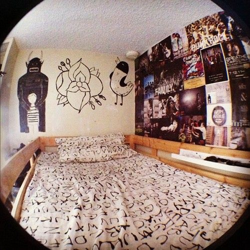 Pop Art Bedroom Designs Two Bedroom Apartments Black And White Small Bedroom Ideas Four Bed Bedroom: Best 25+ Punk Bedroom Ideas On Pinterest