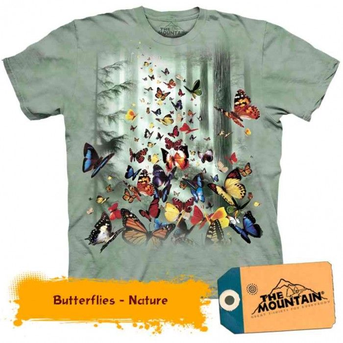 Tricouri The Mountain – Tricou Butterflies Nature