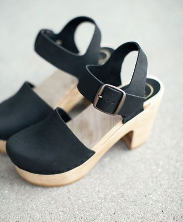 Midnight Platform Jane Clog