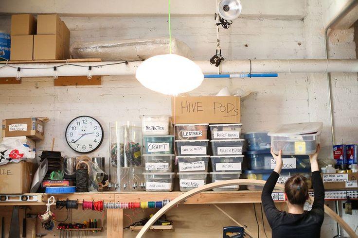 A BIOLOGIST, AN ENGINEER, A DESIGNER AND A MUSICAL ROBOT BUILDER WALK INTO A ROOM