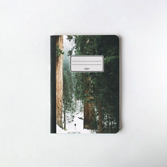 Oaks Notebook  Blank pages  Lined pages by PelhamGoods on Etsy